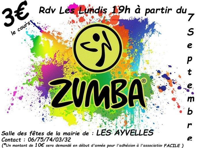 Zumba - Ardennes - Les Ayvelles